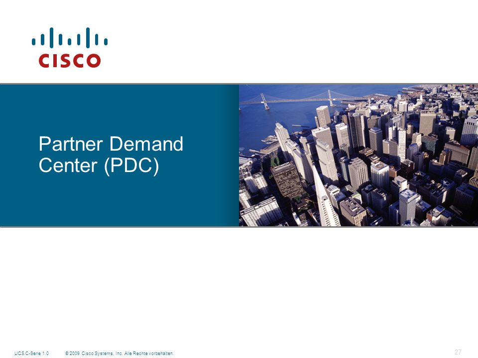 Partner Demand Center (PDC)