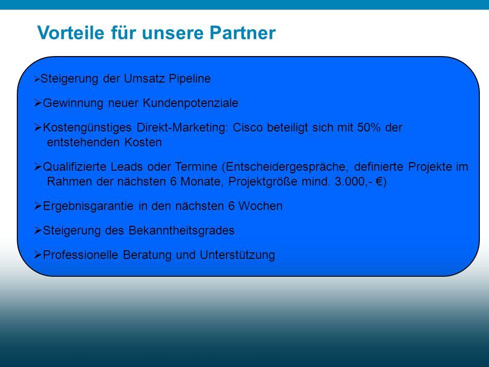 Vorteile für unsere Partner