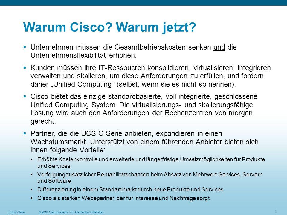 Warum Cisco Warum jetzt
