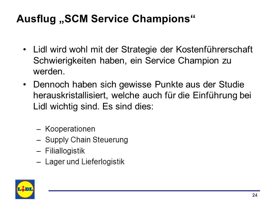 "Ausflug ""SCM Service Champions"