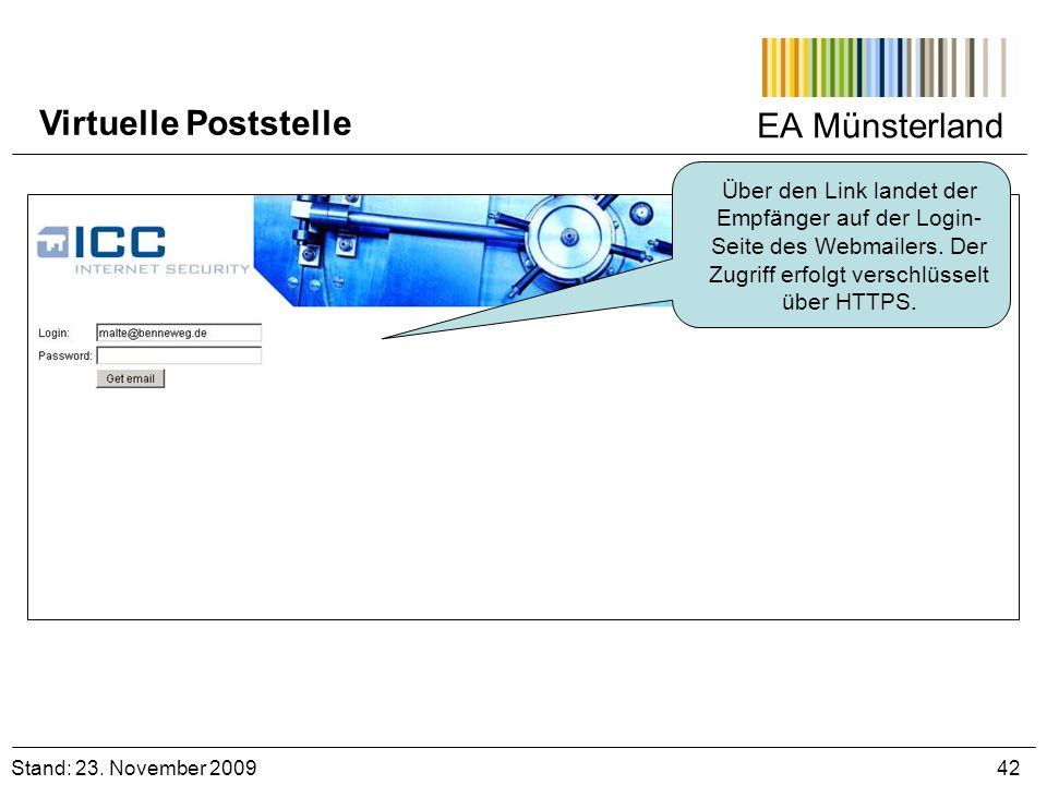 Virtuelle Poststelle EA Münsterland
