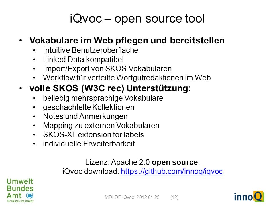iQvoc – open source tool