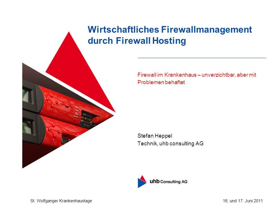 Wirtschaftliches Firewallmanagement durch Firewall Hosting