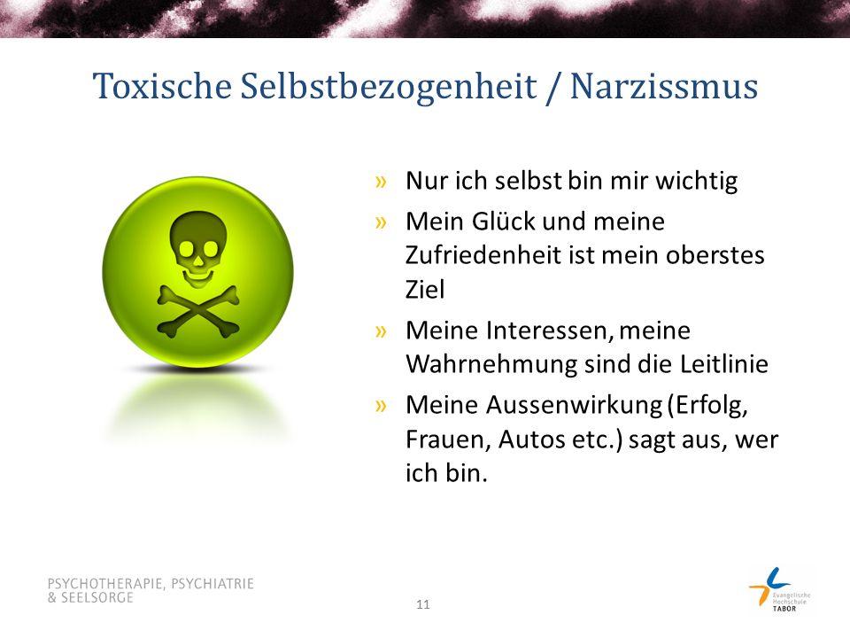 Toxische Selbstbezogenheit / Narzissmus