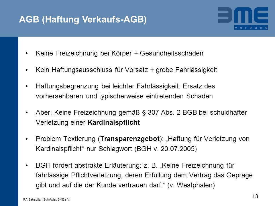AGB (Haftung Verkaufs-AGB)