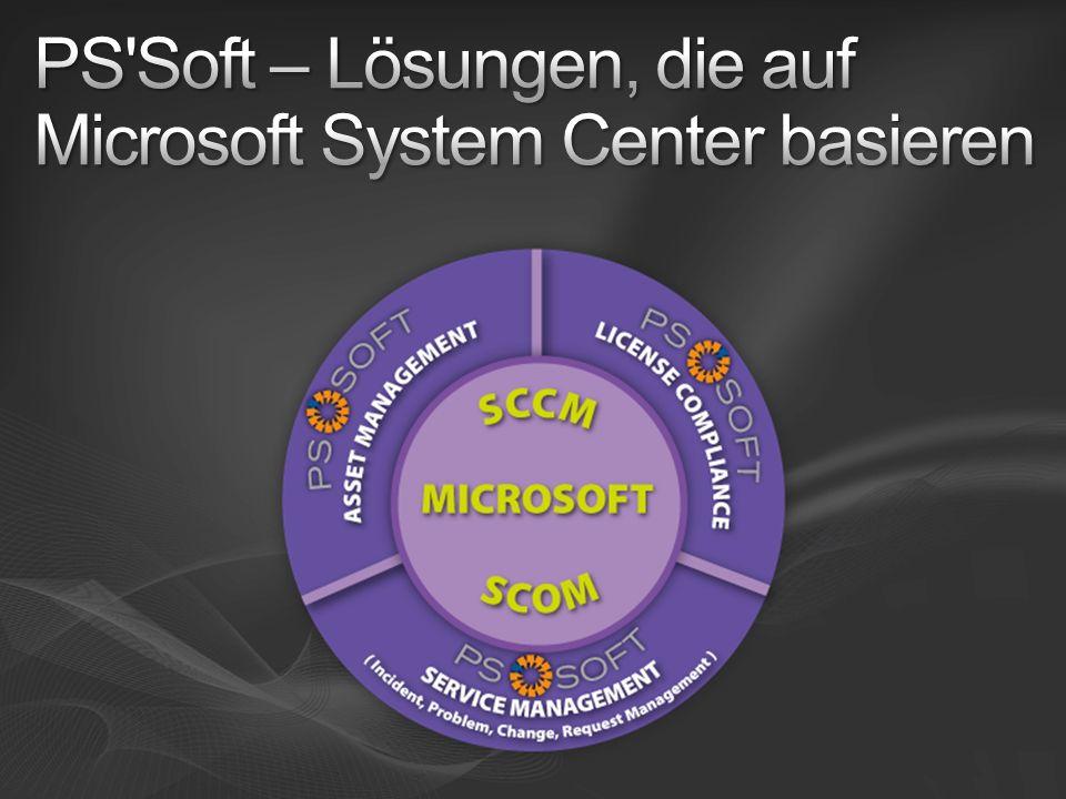 PS Soft – Lösungen, die auf Microsoft System Center basieren