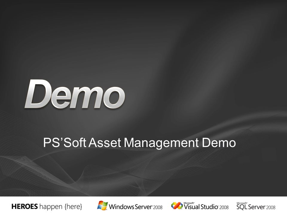 PS'Soft Asset Management Demo