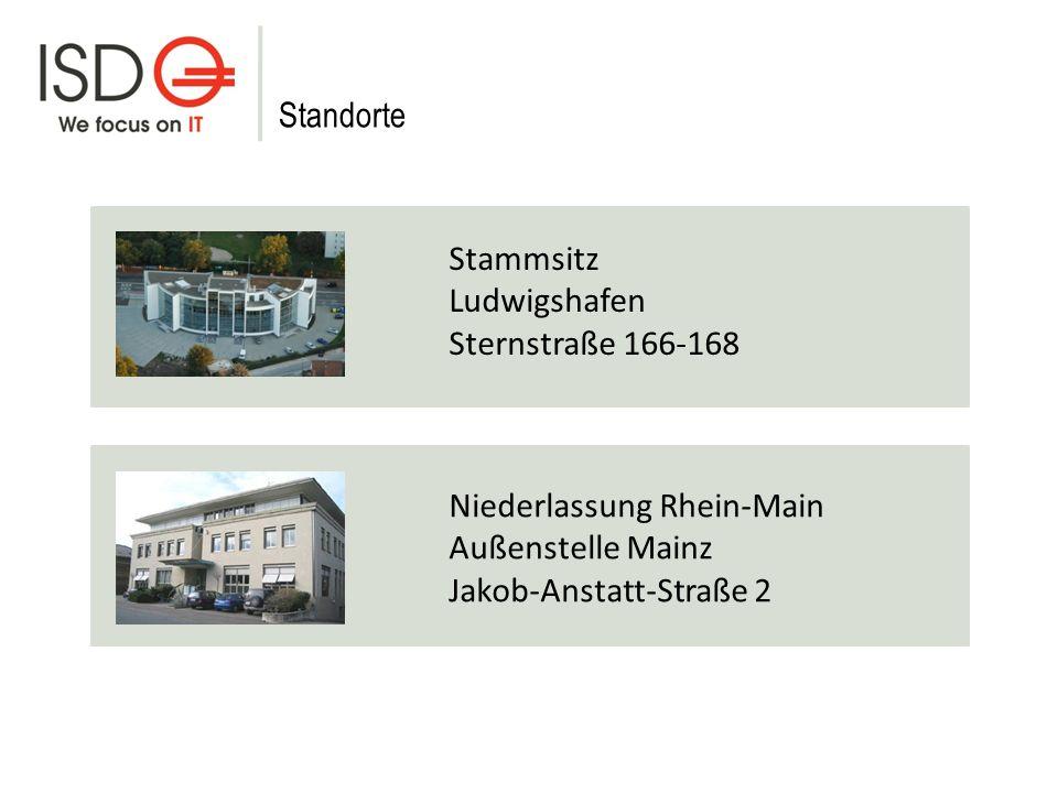 Standorte Stammsitz. Ludwigshafen. Sternstraße 166-168. Niederlassung Rhein-Main. Außenstelle Mainz.