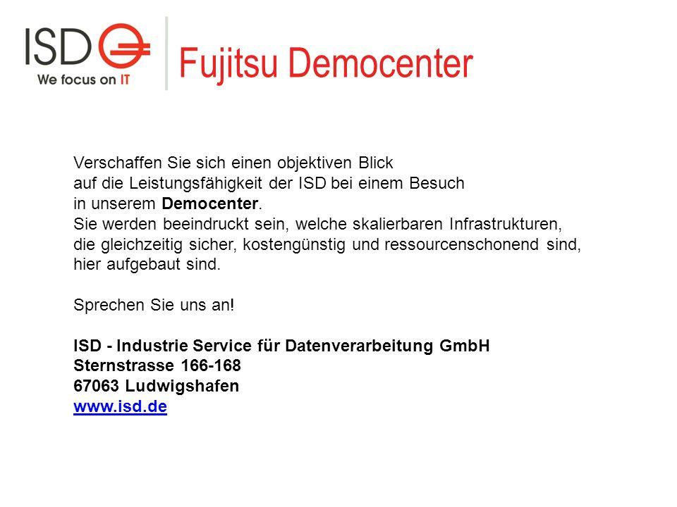 Fujitsu Democenter Verschaffen Sie sich einen objektiven Blick