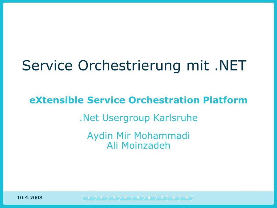 Service Orchestrierung mit .NET