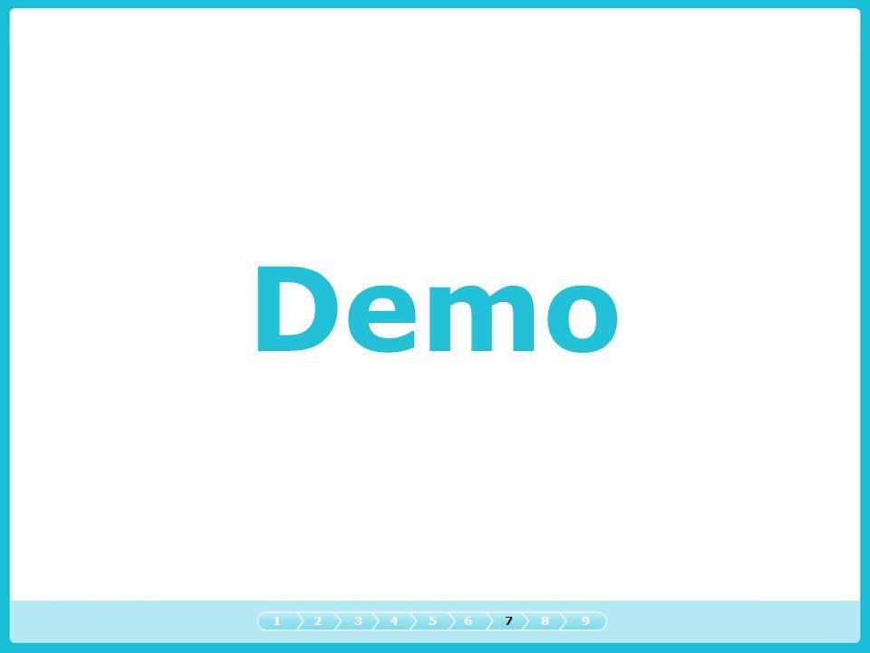 Demo 1 2 3 4 5 6 7 8 9