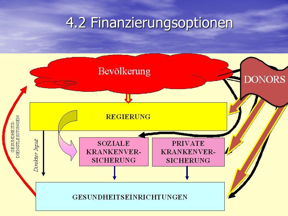 4.2 Finanzierungsoptionen