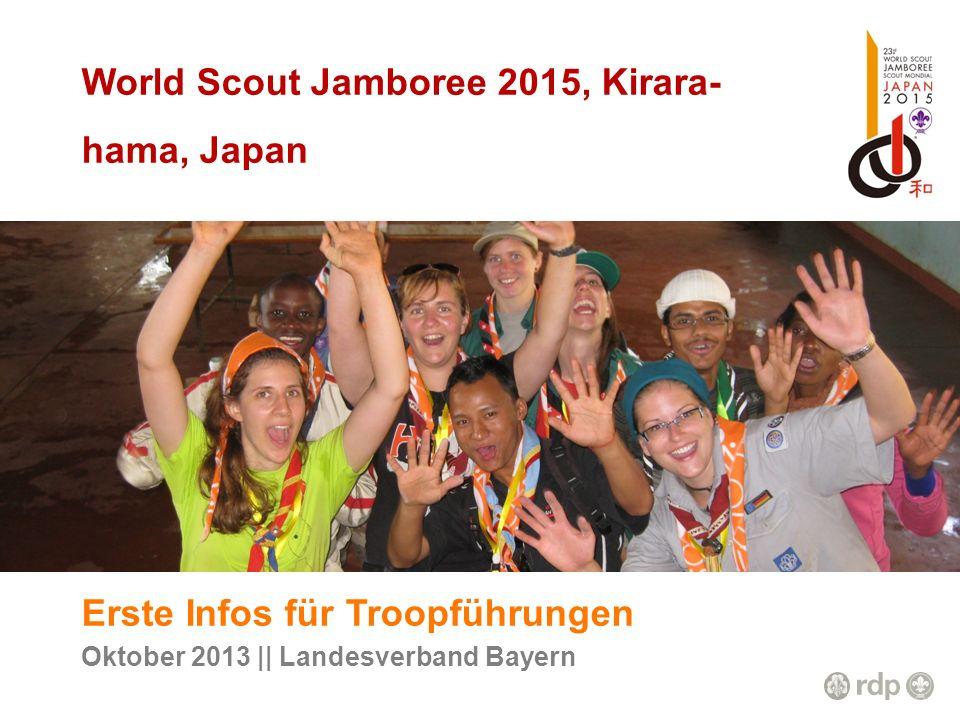World Scout Jamboree 2015, Kirara-hama, Japan