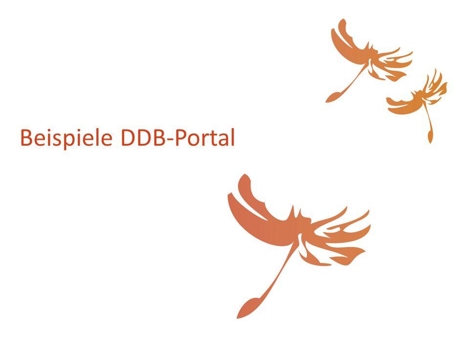 Beispiele DDB-Portal
