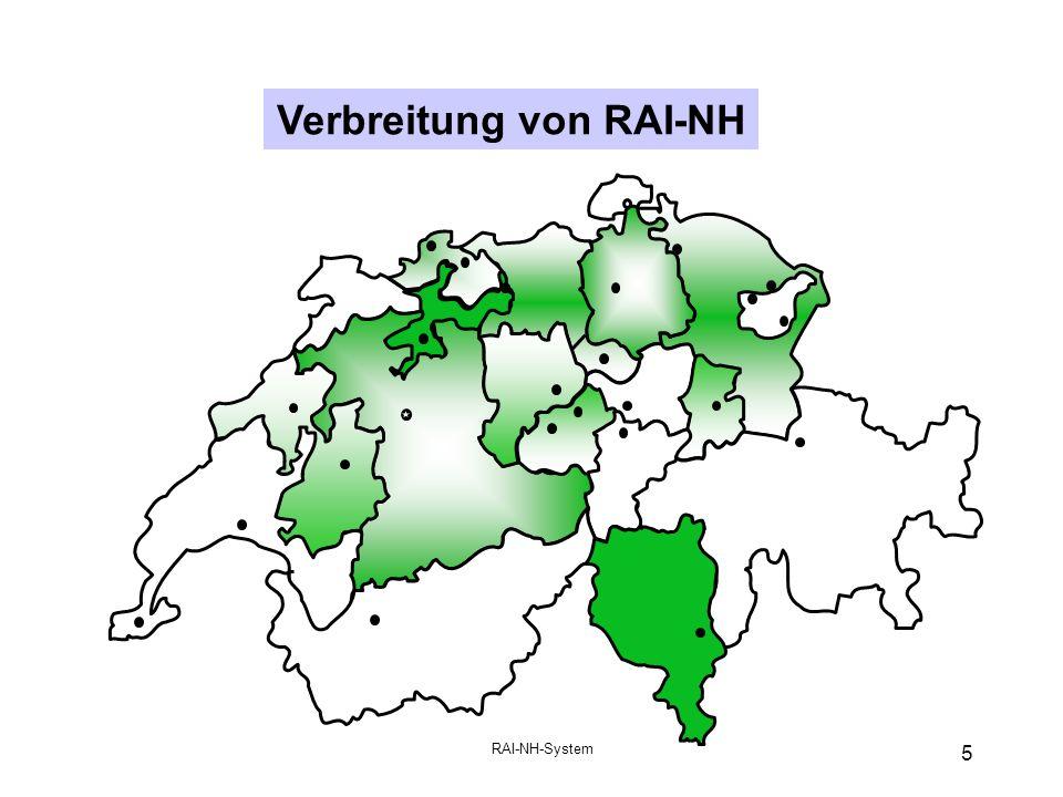 Verbreitung von RAI-NH
