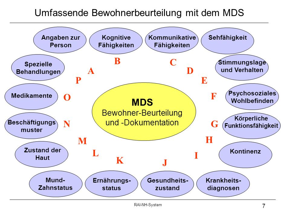 Umfassende Bewohnerbeurteilung mit dem MDS
