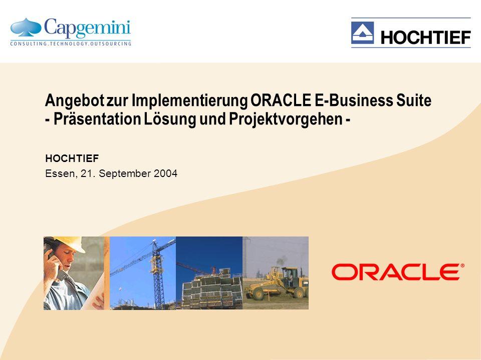 HOCHTIEF Essen, 21. September 2004