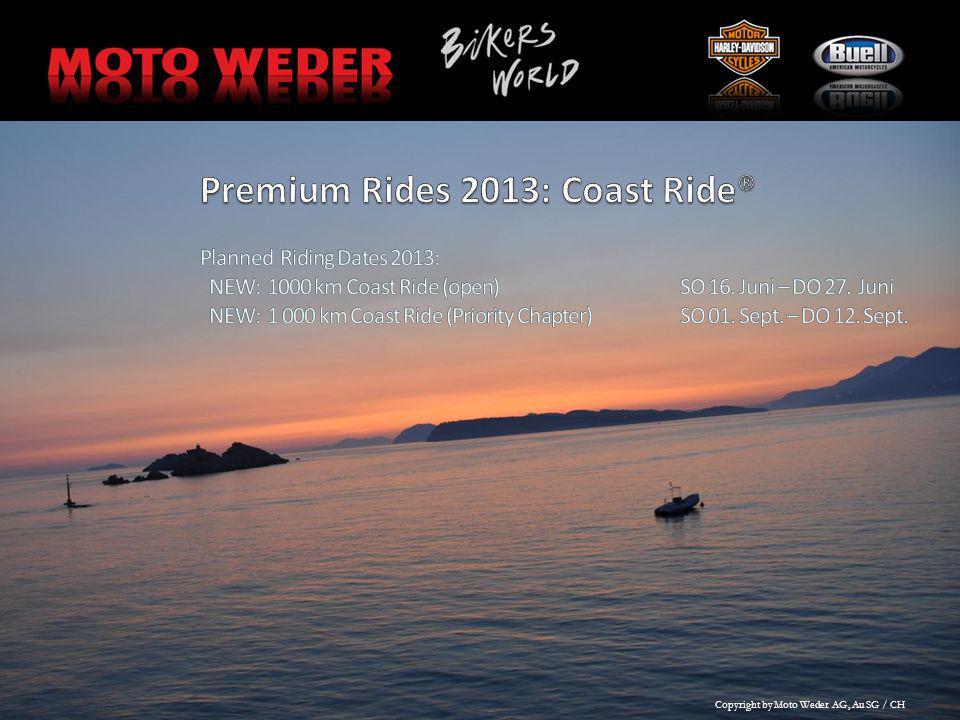 Premium Rides 2013: Coast Ride®