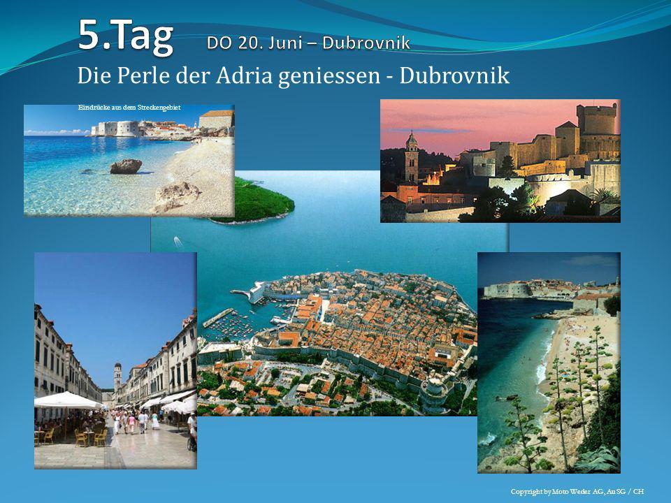 Die Perle der Adria geniessen - Dubrovnik