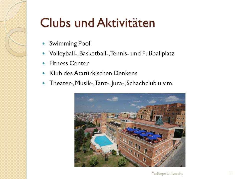 Clubs und Aktivitäten Swimming Pool