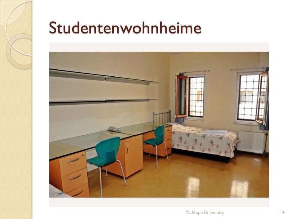 Studentenwohnheime Yeditepe University