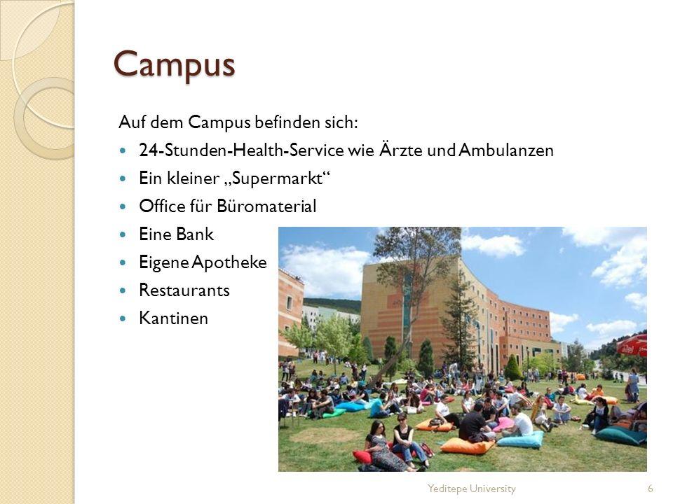 Campus Auf dem Campus befinden sich: