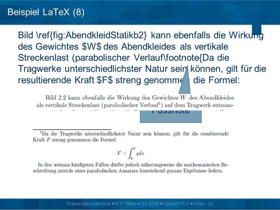 Beispiel LaTeX (8)