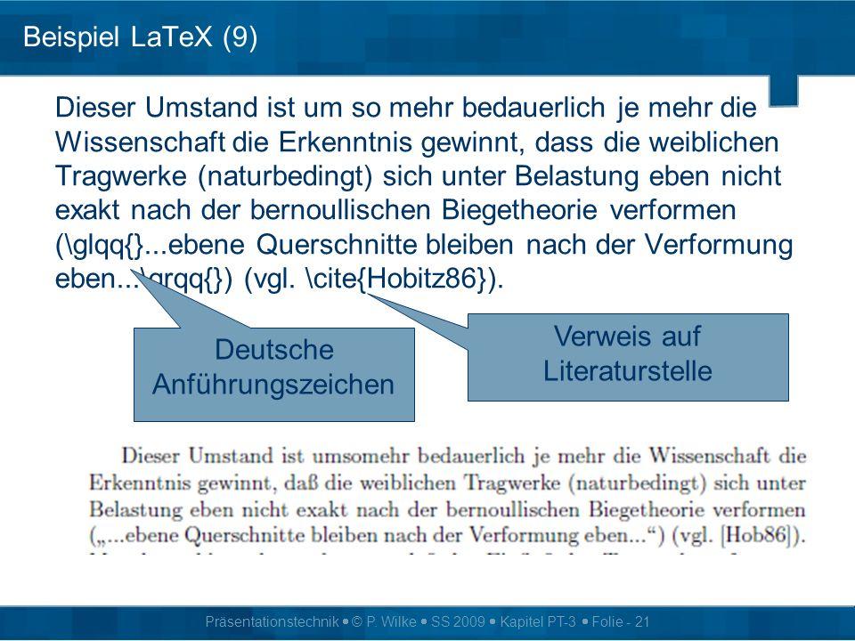 Verweis auf Literaturstelle Deutsche Anführungszeichen