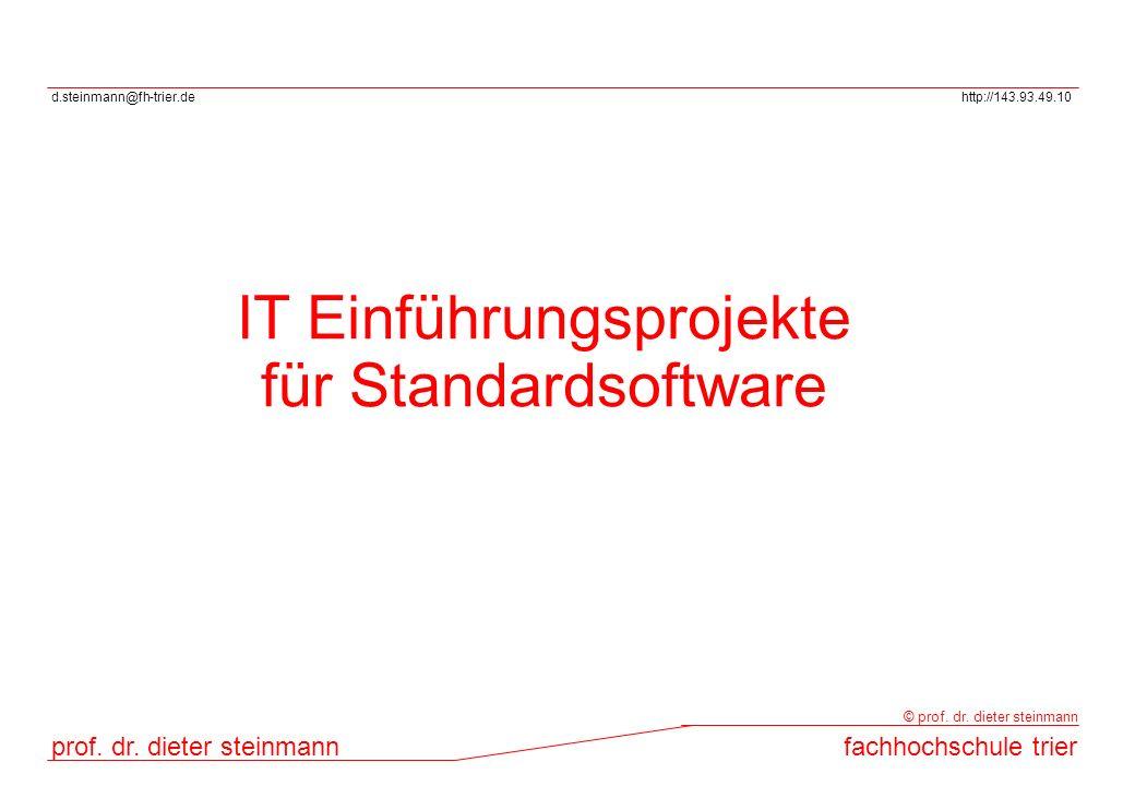IT Einführungsprojekte