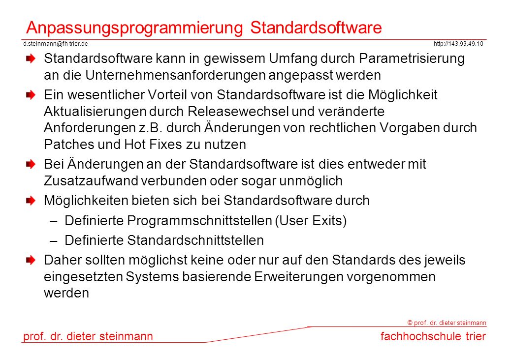 anwender standardsoftware gwg