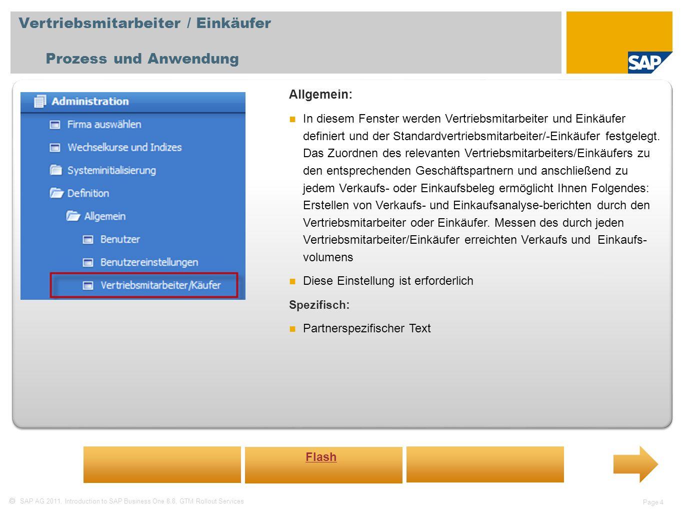 Vertriebsmitarbeiter / Einkäufer Prozess und Anwendung