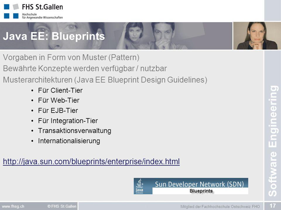 Java EE: Blueprints Vorgaben in Form von Muster (Pattern)