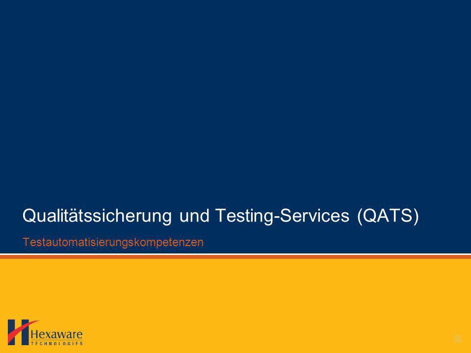 Qualitätssicherung und Testing-Services (QATS)