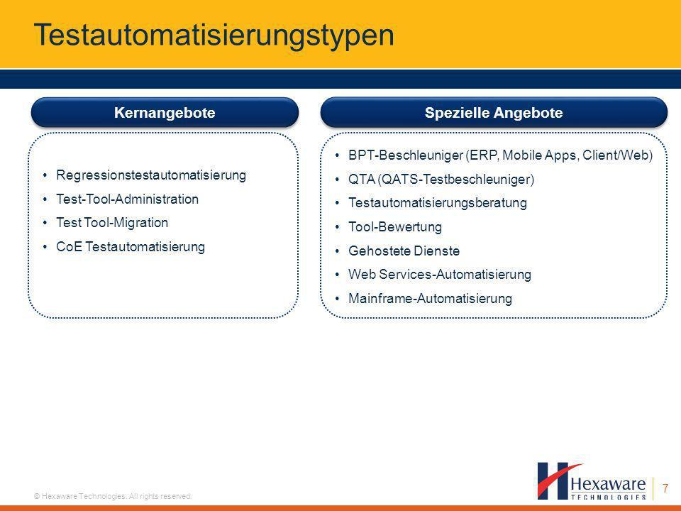 Testautomatisierungstypen