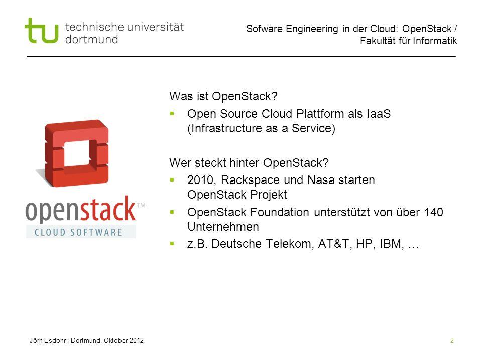 Open Source Cloud Plattform als IaaS (Infrastructure as a Service)
