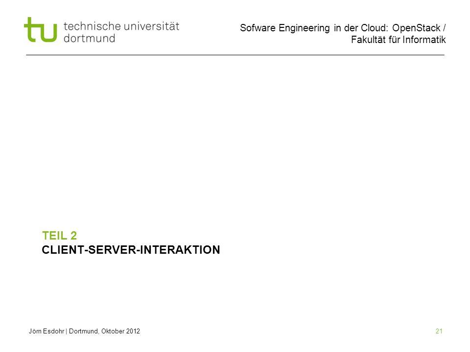 Teil 2 Client-Server-Interaktion