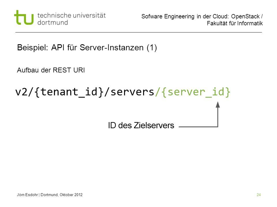 Beispiel: API für Server-Instanzen (1)