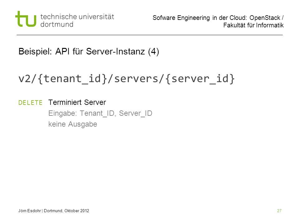 Beispiel: API für Server-Instanz (4)