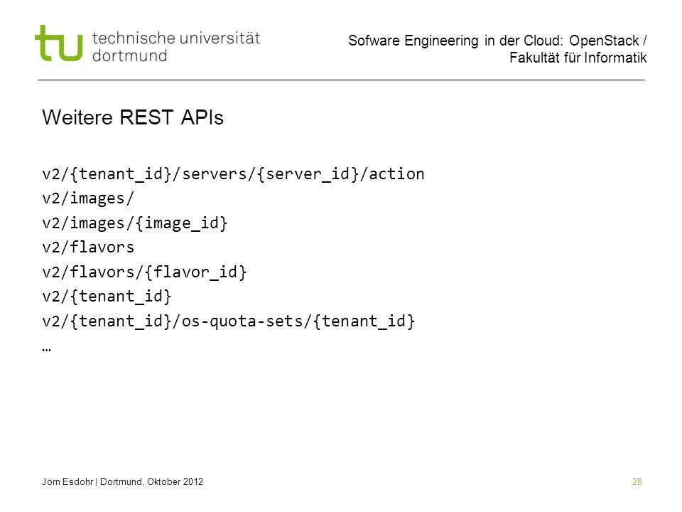 Weitere REST APIs