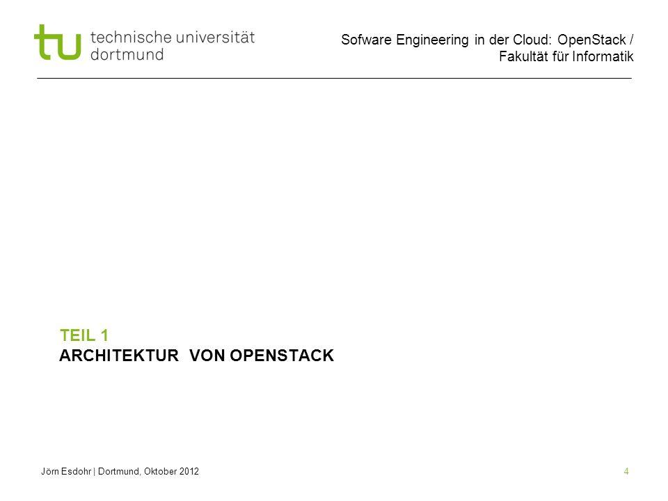 Teil 1 Architektur von OpenStack