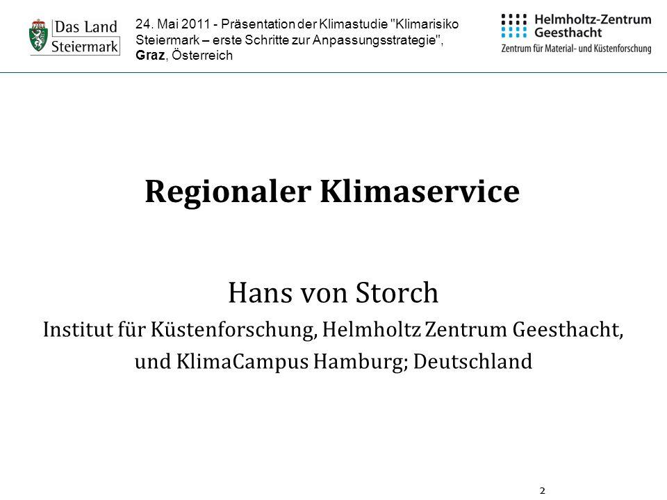 Regionaler Klimaservice