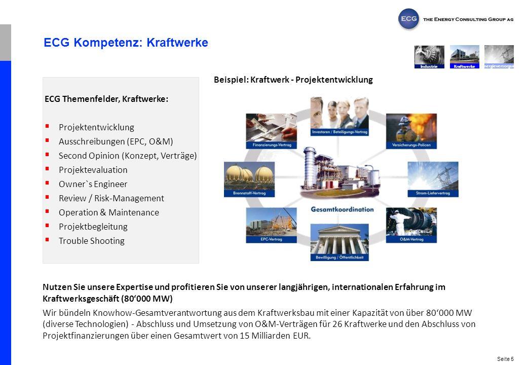 ECG Kompetenz: Kraftwerke