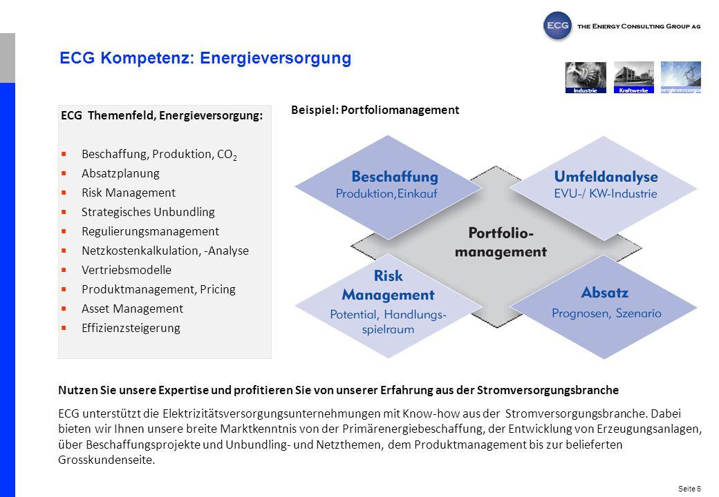ECG Kompetenz: Energieversorgung