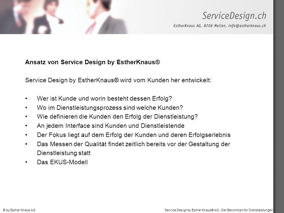 Ansatz von Service Design by EstherKnaus®