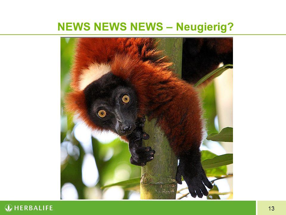 NEWS NEWS NEWS – Neugierig
