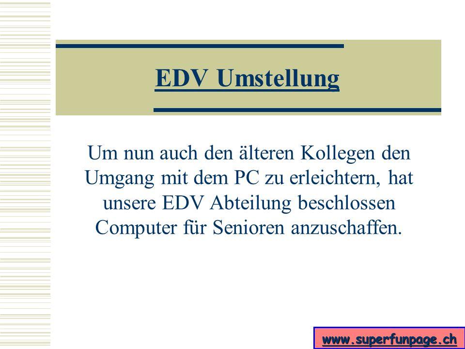 EDV Umstellung