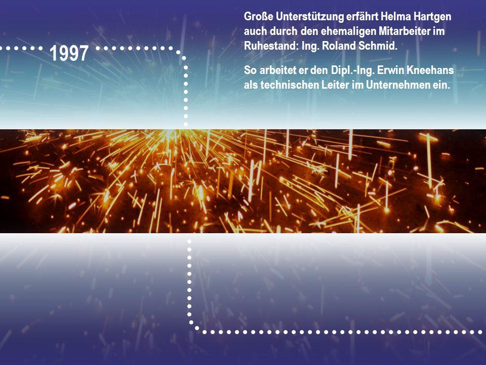 Große Unterstützung erfährt Helma Hartgen auch durch den ehemaligen Mitarbeiter im Ruhestand: Ing. Roland Schmid.