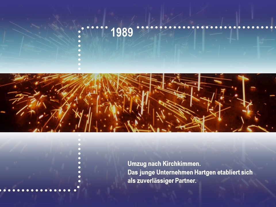 1989 Umzug nach Kirchkimmen.