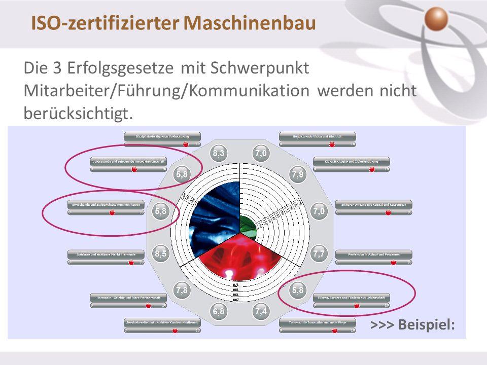 ISO-zertifizierter Maschinenbau