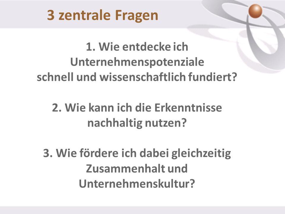 3 zentrale Fragen